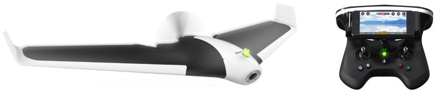 Parrot Disco with transmitter